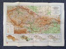 Map of the Czech Republika Srpska