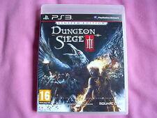Dungeon Siege 3 Edicion Limitada - Ps3 - Nuevo - Edicion España - Playstation 3