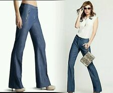 NWT $169 Guess by Marciano Rosa Relaxed Straight Leg Trouser pants size 10