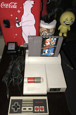 1993 Nintendo NES Top Loader Console Complete w/Super Mario Bros. TESTED WORKING