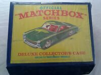 Official Matchbox Series Deluxe Collector's Case 72 Cars 1968 + Extra Tray