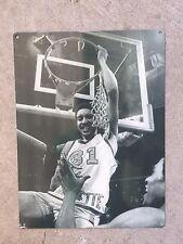 Marquette Warriors Basketball Bo Ellis 1977 Ncaa Champs Vtg Poster Metal Sign
