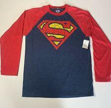 Superman Comic Justice League T-Shirt Men's Medium 38/40