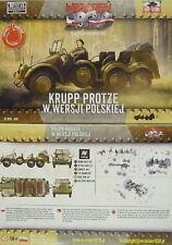 Krupp Protze Polaco Versión, First To Fight , 1/72 escultura, NUEVO