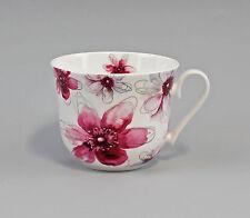 "Porzellan Becher/Jumbo-Tasse Dekor ""Blüten pink"" Jameson&Tailor 9952298"