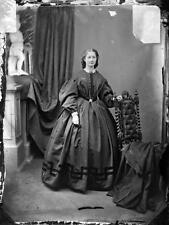 Old Photo.  Edinburgh. Elegant Woman