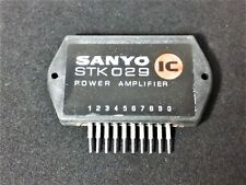 Sanyo Stk-029 Vs 300 Stereo Power Amp Inline Circuit Nos