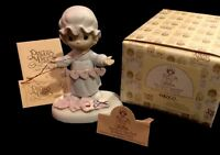 """Precious Moments """"You Have Touched So Many Hearts"""" E2821 NIB Mint With Tags"""