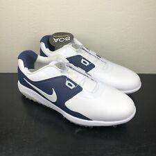 NEW [Nike] AQ1789-101 Vapor Pro BOA Men's Golf Shoes White/Navy Blue Sz 7
