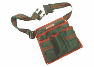 Bosmere 4 Pocket Tool Belt Pouch N543 Garden Care DIY Storage Adjustable Belt