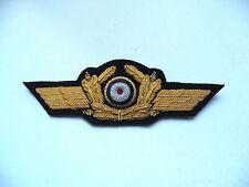 WW2 German Luftwaffe General Visor Cap Hat Emblem Repro