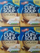 Batchelors Cup a Soup-poulet x 4 boîtes UK Stock datée du 01/2022 en vrac Achete...