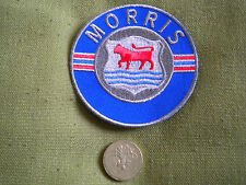 75mm MORRIS LOGO MOTORING EMBROIDERED PATCH