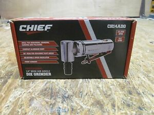 "NEW --- Chief CH14ADG 1/4"" Mini Air Angle Die Grinder     (Lot B196)"