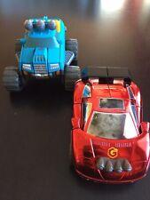 2005 Hasbro Playskool Go-Bots Transformer Flash-Bot Speed-Car Takara Loose Lot