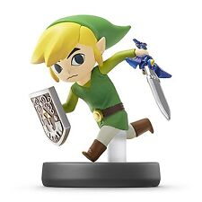 Amiibo toon Link Super Smash Brothers Nitendo Switch Wii U 3DS Japan