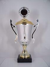 Metall HENKEL POKAL - inkl. Emblem & Gravur Schild - H 32,5 cm Sportpokal Pokale