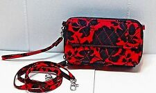 NWT Vera Bradley All In One Crossbody 15863477 Silhouette Floral *RARE PATTERN*