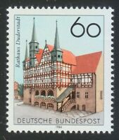 Germany 1984 Mi 1222 MNH Sc 1424 Town hall Duderstadt ** Perfect stamp of Saxony