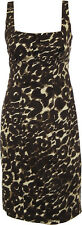 NWT CALVIN KLEIN Stone Animal Printed Sheath Party Dress - Size US 6 (AU 10/12)
