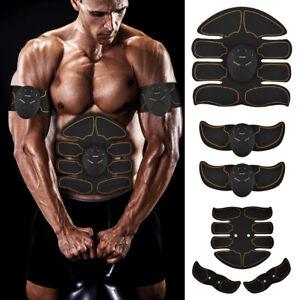 EMS Bauchmuskeltrainer Bauchmuskel Stimulator Elektro Exerciser Muscle Pad ABS