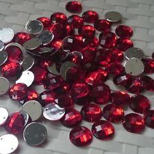 700 15 mm Sew sul Diamanti Acrilico Vari Colori BULK Acquisti all'ingrosso danneggiato