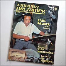 MODERN DRUMMER - May 1983 - EARL PALMER - STUDIO LEGEND