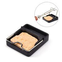 T-stand Zirconia Ceramics Mini Soldering Iron Stand Holder for TS100+Mat Sponge