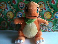 "Pokemon Center Plush Charmander 9"" Pokedoll Mystery Dungeon stuffed toy figure"