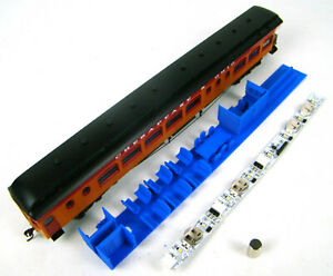 Custom Interior/Lighting Combo for 85' Palace Observation Coaches HO Scale