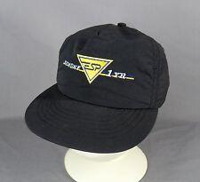 Vtg Penske ESP 1YR Snapback Trucker Hat Cap Adjustable Embroidered Black USA