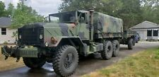 M925 5 Ton winch equipped troop carrier with Lmtv trailer