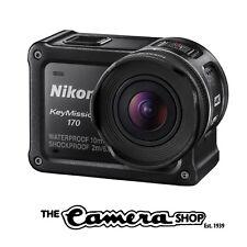 Nikon KeyMission 170 4K Action Camera - Black (Latest Model)