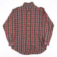Vintage RALPH LAUREN Blake Green 90s Long Sleeve Casual Shirt Mens L