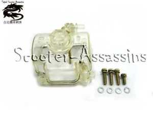 OKO SPARE PARTS, CARB CLEAR BOWL+ GASKET for PWK 19mm-30mm