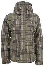 Oakley Brigade Vert Mesdames imperméable veste de ski manteau (XS) - NOUVEAU-Hiver, Neige
