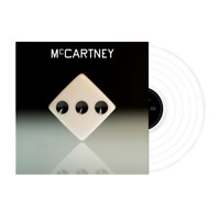 Paul McCartney III Exclusive Limited Edition White Color Vinyl LP x/11000 RARE