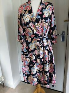 M&S Alexa Chung Floral Dressing Gown Size M