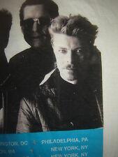 Vintage Concert T-Shirt  DAVID BOWIE TIN MACHINE 91 RARE NEVER WORN NEVER WASHED