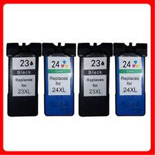 4 Ink Cartridge For Lexmark 23XL 24XL Z1410 Z1420 Z1400 X4550 Business Edition