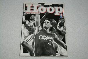 1997-1998 HOOP / Los Angeles Lakers PROGRAM * Kobe Bryant 2nd Year * Shaquille