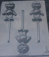 GROVER BABY LOLLIPOP SESAME STREET CHOCOLATE CANDY MOLD BIRTHDAY PARTY FAVORS