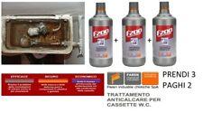 DISINCROSTANTE ACIDO ANTICALCARE CASSETTE INCASSO WC F200 FAREN ORIGINALE 3X2