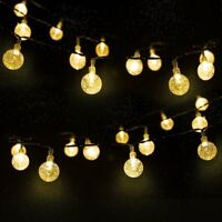 Waterproof Solar Powered 30 LED String Light Garden Path Yard Decor Lamp Outdoor