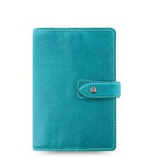 Filofax Malden Organizer Personal - Kingfisher Blue - 026026 - 100% Leather