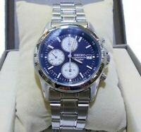 Official SEIKO Men's Chronograph Watch SND365 Japan New with tracking number
