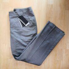 Austin Reed Women's Size 12 Petite Grey Sharkskin Smart Suit Trousers Brand New