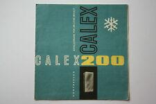 originale Werbung Gebrauchsanleitung DDR Calex 200 Kompressor Kühlschrank (57)