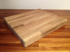 "Cutting Chopping Board Teak XL Chef Grade Antimicrobial Kitchen PRO Gift 17""x12"""