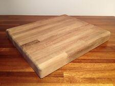 "Cutting Chopping Board Teak XL Chef Grade Antimicrobial Kitchen PRO Gift 17""x12"""